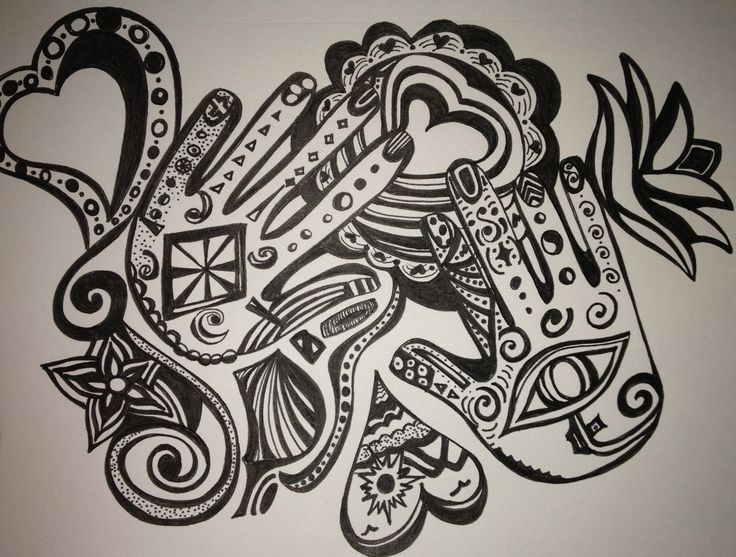 One of my spontaneous doodles,
